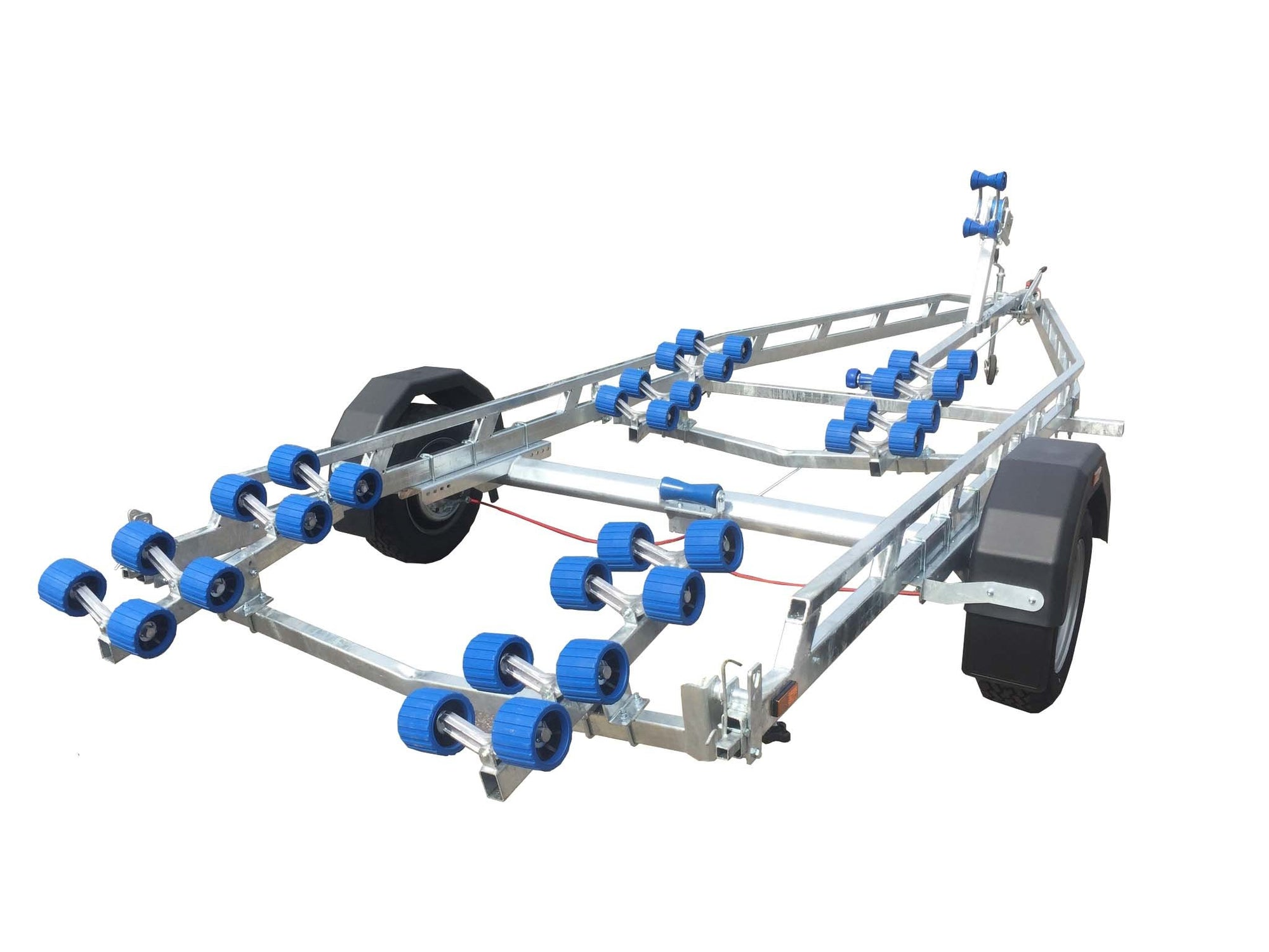 EXT 1900 Super Roller Galvanised Boat Trailer - Ocean First Marine