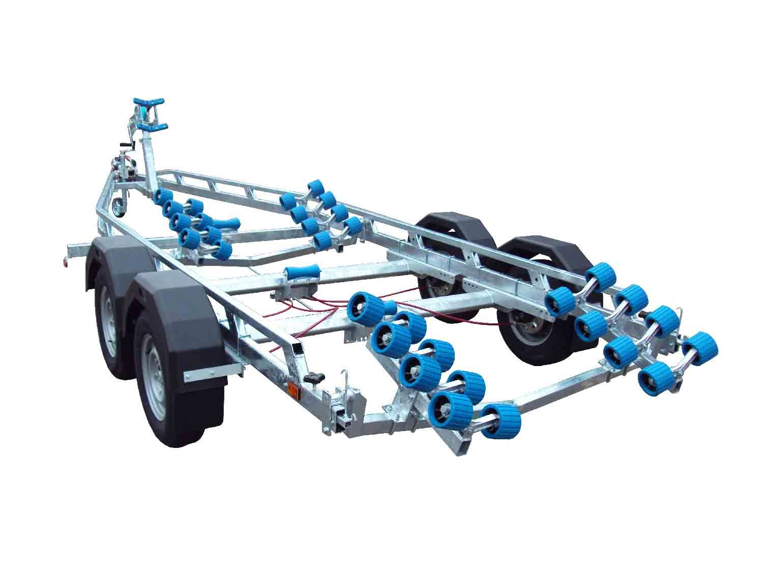 EXT 2400 Super Roller Galvanised Boat Trailer - Ocean First Marine