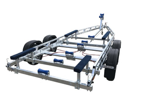 2600 Bunk Galvanised Boat Trailer