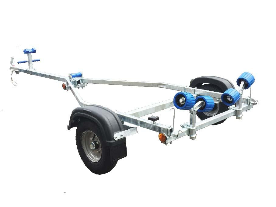 EXT 300 Roller Galvanised Boat Trailer - Ocean First Marine
