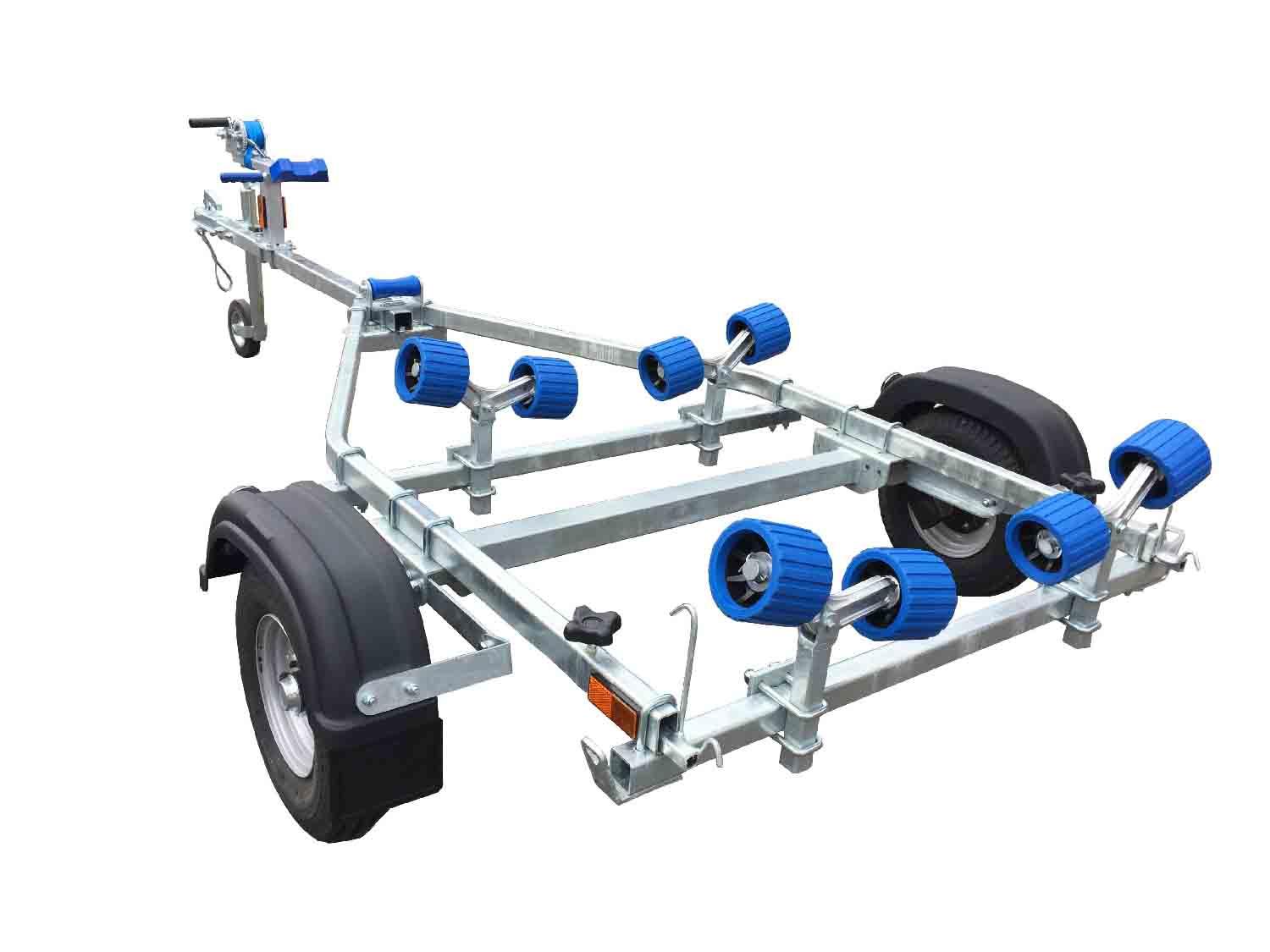 EXT 350 Roller Galvanised Boat Trailer - Ocean First Marine