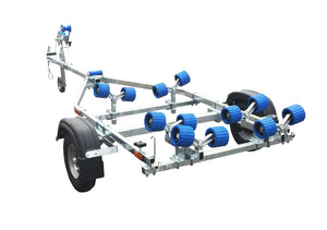 EXT 400 Roller Galvanised Boat Trailer
