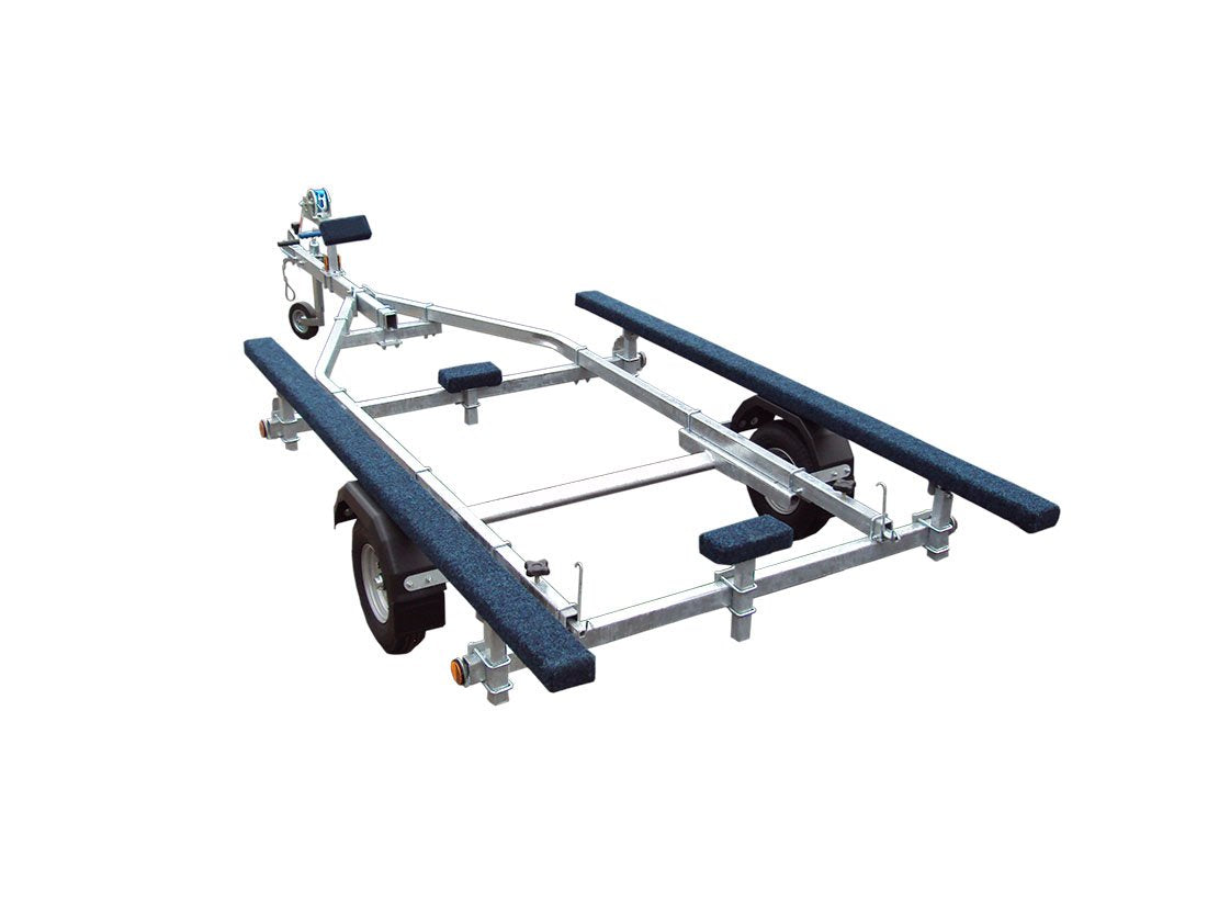 500 Inflatable Galvanised Boat Trailer