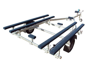 750 Inflatable Galvanised Boat Trailer