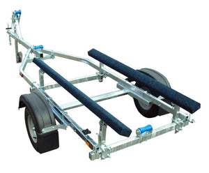 750 Maxi Bunk Galvanised Boat Trailer