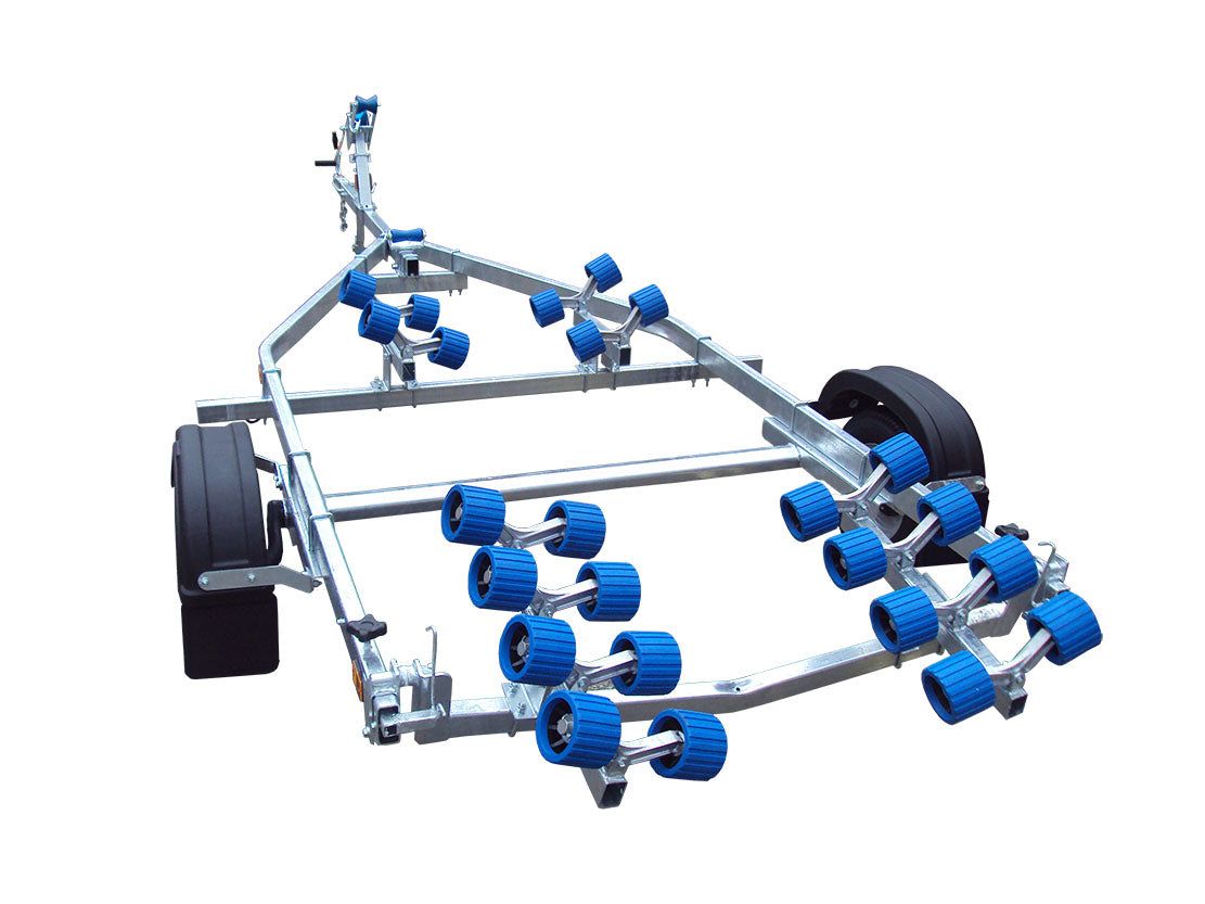 EXT 750 Super Roller Galvanised Boat Trailer - Ocean First Marine