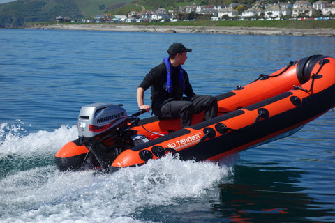 370 Safety Aluminium RIB inc 20HP Mercury Fourstroke