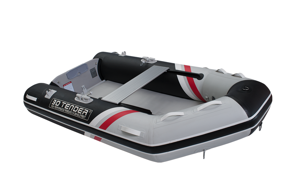 Twin V Shape 250 Air Deck Tender - Ocean First Marine