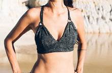 Load image into Gallery viewer, Iman Organic Bra Top- Silver snake