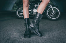 Load image into Gallery viewer, Punk Priestess Leather Boots