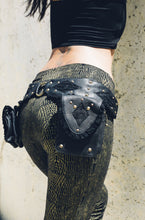 Load image into Gallery viewer, Punk Priestess Leather Pocket Belt
