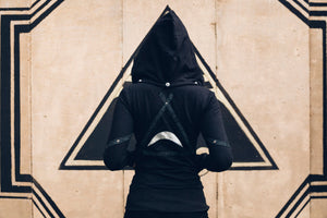 Isis Pyramid hoody-Long Version