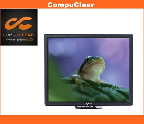 "Acer AL 1716 - 17"" LCD Monitor - Grade A with Cables - Standless"