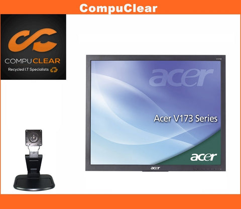 "Acer V173 - 17"" LCD Monitor - Grade A with Cables"
