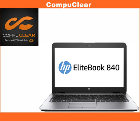"HP EliteBook 840 G3 14"" Laptop - Core i7-6500U 2.5GHz 8GB RAM 256GB SSD Win 10"