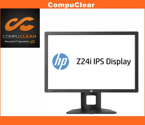 "HP Z Display Z 24 I - 24"" Widescreen IPS Monitor - Grade A with Cables"