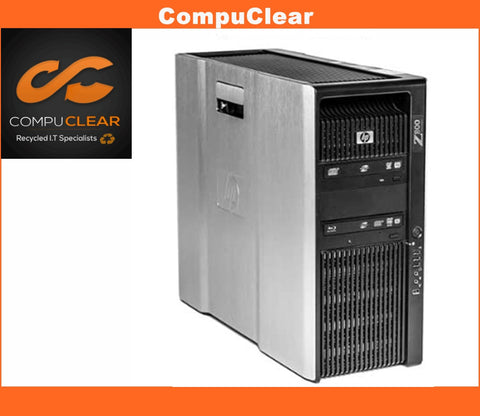 HP Z800 WorkStation Tower PC Desktop - Xeon 8GB RAM 1TB HDD Windows 10