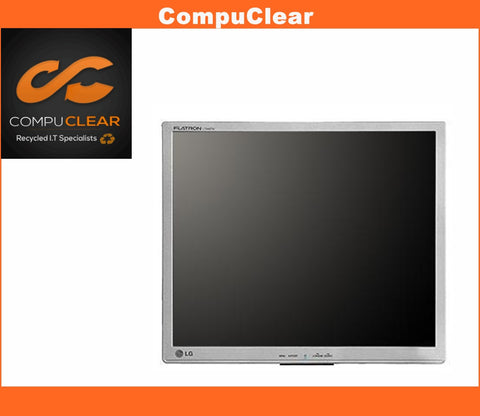 "LG L 1942 P - 19"" LCD Monitor - Grade A with Cables - Standless - Silver"
