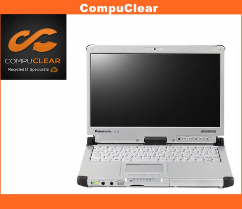 "Panasonic Toughbook CF-C2 12.5"" Laptop - i5 3rd 4GB RAM 128GB SSD Windows 10 Pro"