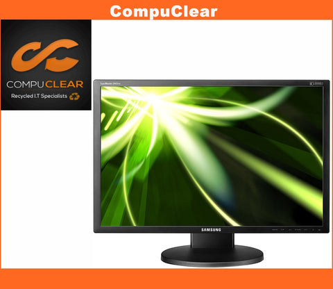 "Samsung SyncMaster 2443 BW - 24"" Widescreen LCD Monitor - Grade B with Cables"