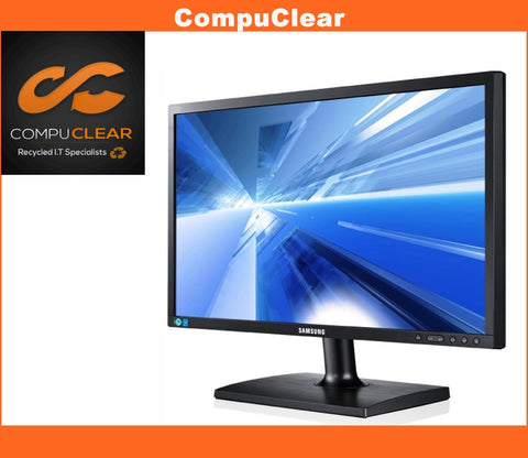 "Samsung S24C200BL - 23.6"" Widescreen Full HD LED Monitor - Grade A with Cables"