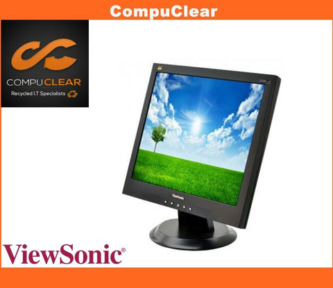 "ViewSonic VA 703 B - 17"" LCD Monitor - Grade A With Cables"