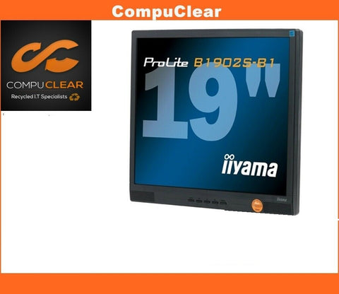 "IIYAMA ProLite B 1902 S - 19"" LCD Monitor - Grade A - With Cables - Standless"