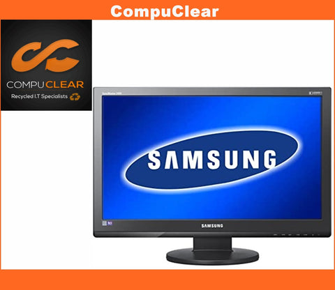 "Samsung SyncMaster 2494 LW - 24"" Widescreen Full HD LCD Monitor - Grade B Cables"