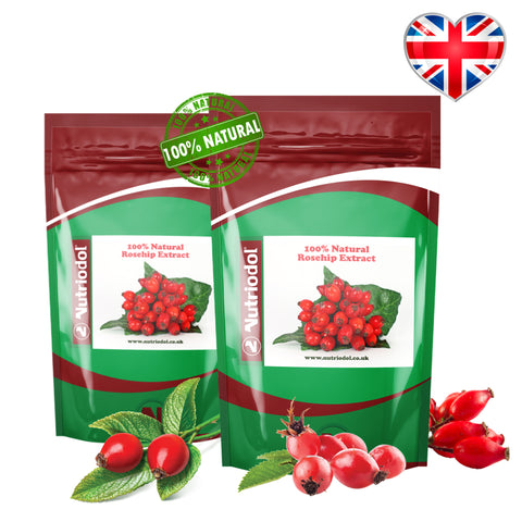 Rosehip Extract | 2000mg Rose-Hip Per Capsule
