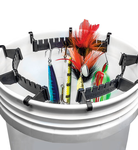 Fishing Bucket Lure Holder