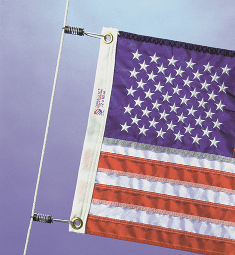 Halyard / Outrigger Flag Clips