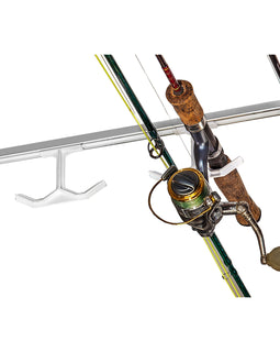 Hang-M-High Ceiling Fishing Rod Rack