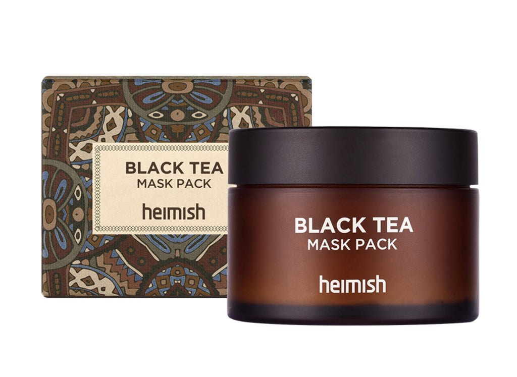 JUST ARRIVED! Heimish Black Tea Mask Pack