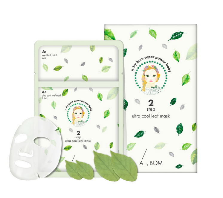 A. by BOM Ultra Cool Leaf Mask