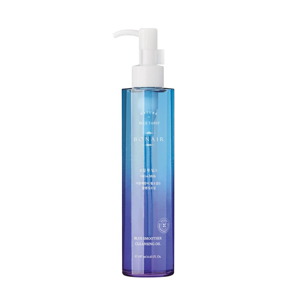 Bonair Blue Smoother Cleansing Oil to Milk