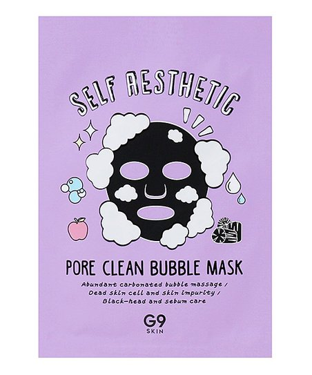 G9skin Self aesthetic Poreclean Bubble mask