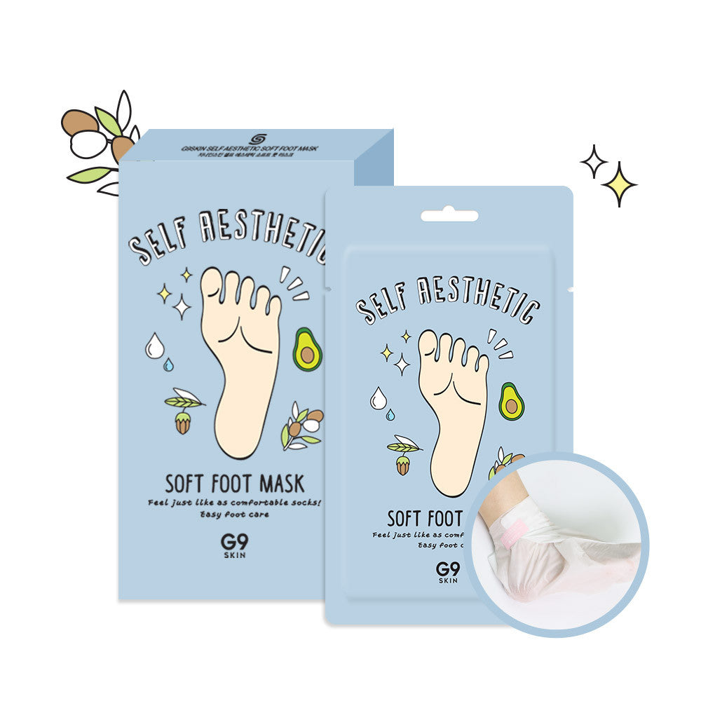 G9Skin Self Aesthetic Soft Foot Mask (1pc)