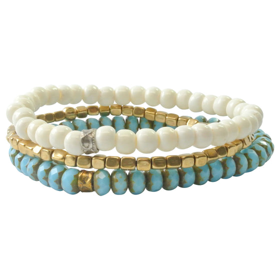 Men's Blue Stack by Munrowe