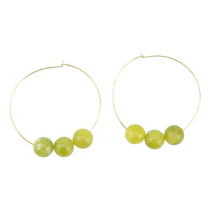 August Hoopla Earrings