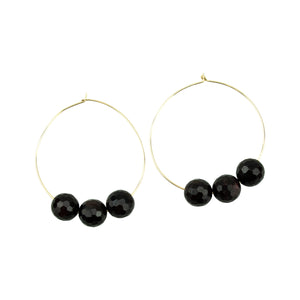 January Hoopla Earrings