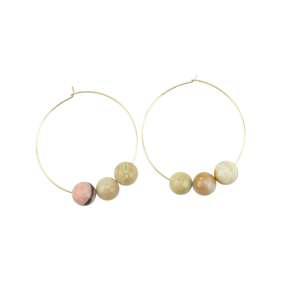 October Hoopla Earrings