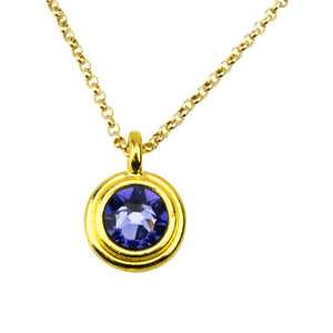 December Birthstone Necklace