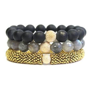 Black & Gold Stack