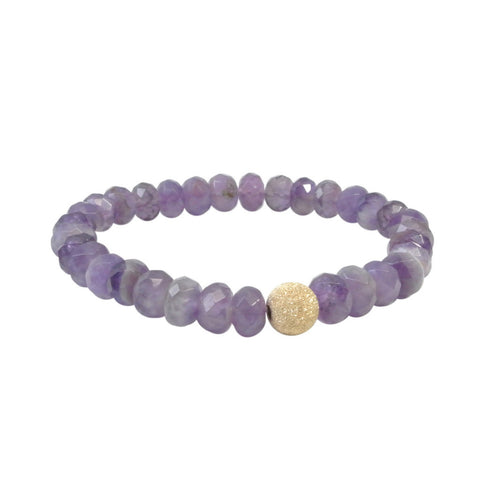 The Purple Aster Bracelet