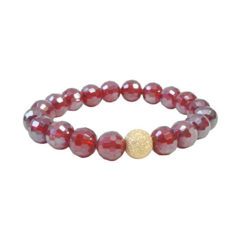The Crimson Aster Bracelet