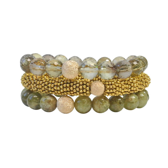 The Green & Gold Stack