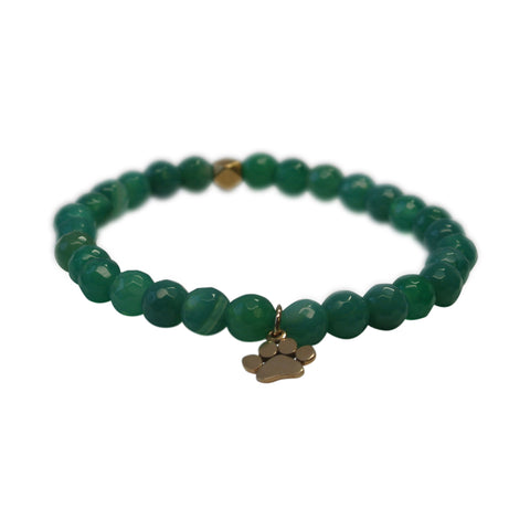 Green Wolverine Pride With Gold Charm