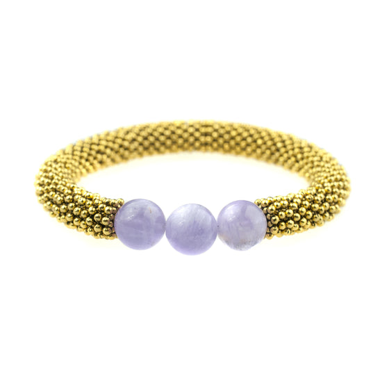 February Accent Bracelet In Gold