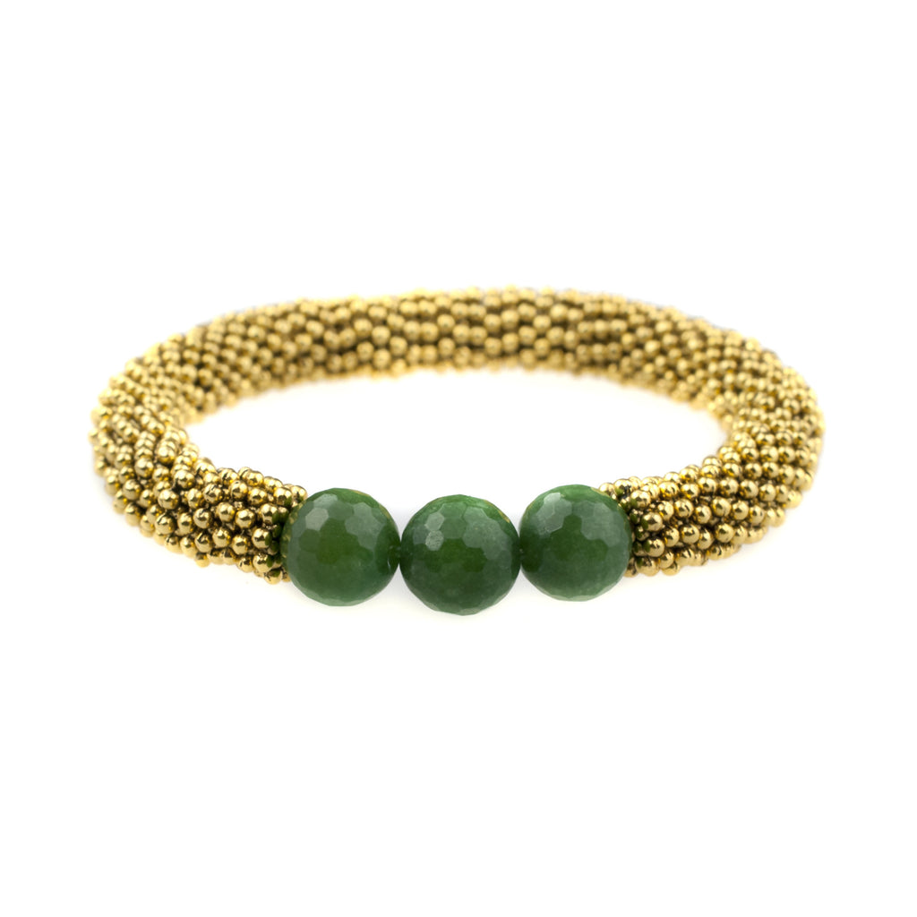 May Accent Bracelet In Gold