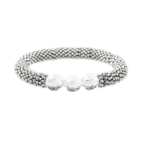 April Accent Bracelet In Silver